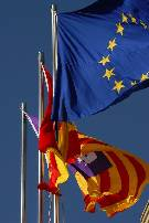 Flag of Mallorca (middle)